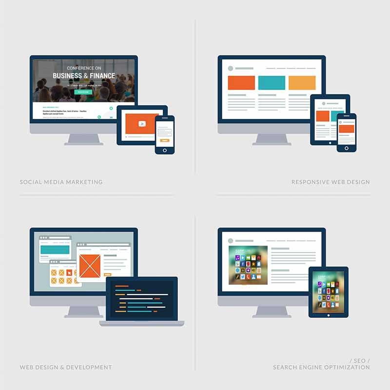 Firmenchronik als Website
